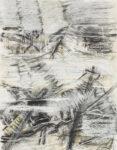 Aufzeichnung #1 - 90x70 cm | Kohle, Kreide auf Papier | 2012