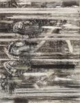 Aufzeihnung #11 - 90x70 cm | Kohle, Kreide auf Papier | 2012
