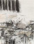 Aufzeihnung #12 - 90x70 cm | Kohle, Kreide auf Papier | 2012