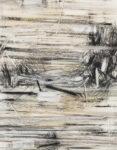 Aufzeichnung #3 - 90x70 cm | Kohle, Kreide auf Papier | 2012