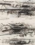 Aufzeichnung #5 - 90x70 cm | Kohle, Kreide auf Papier | 2012