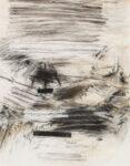 Aufzeichnung #6 - 90x70 cm | Kohle, Kreide auf Papier | 2012
