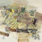 Barceloneta - 150x150 cm | Eitempera auf Leinwand | 2013