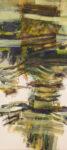 door #4 - 200x90 cm | Eitempera auf Baumwolle | 2014