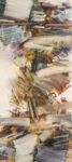 door #5 - 200x90 cm | Eitempera auf Baumwolle | 2014
