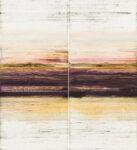 vienna horizon - 111x102 cm | Eitempera auf Papier | 2015