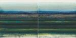 twin cuts #1 - je 35x35 cm | Eitempera auf Baumwolle | 2016