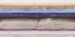 twin cuts #6 - je 35x35 cm | Eitempera auf Baumwolle | 2016