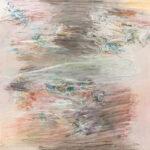 Näherung #12 - 70x70 cm | Ölpastell auf baumwolle | 2011