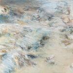 Näherung #4 - 60x60 cm | Ölpastell auf Baumwolle | 2011