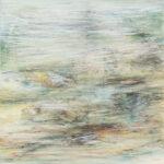 Näherung #5 - 60x60 cm | Ölpastell auf Baumwolle | 2011