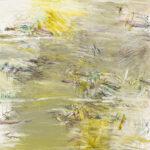 Näherung #9 - 60x60 cm | Ölpastell auf Baumwolle | 2011