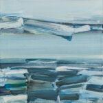 northwaters I | 70x70 cm | Eitempera auf Baumwolle | 2016