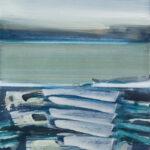 northwaters II | 70x70 cm | Eitempera auf Baumwolle | 2016